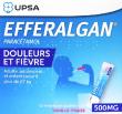 Efferalgan 500 mg granulé  sachet paracétamol