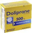 Doliprane 500 mg, comprimé effervescent