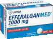 Efferalgan med 1 g, comprimé effervescent